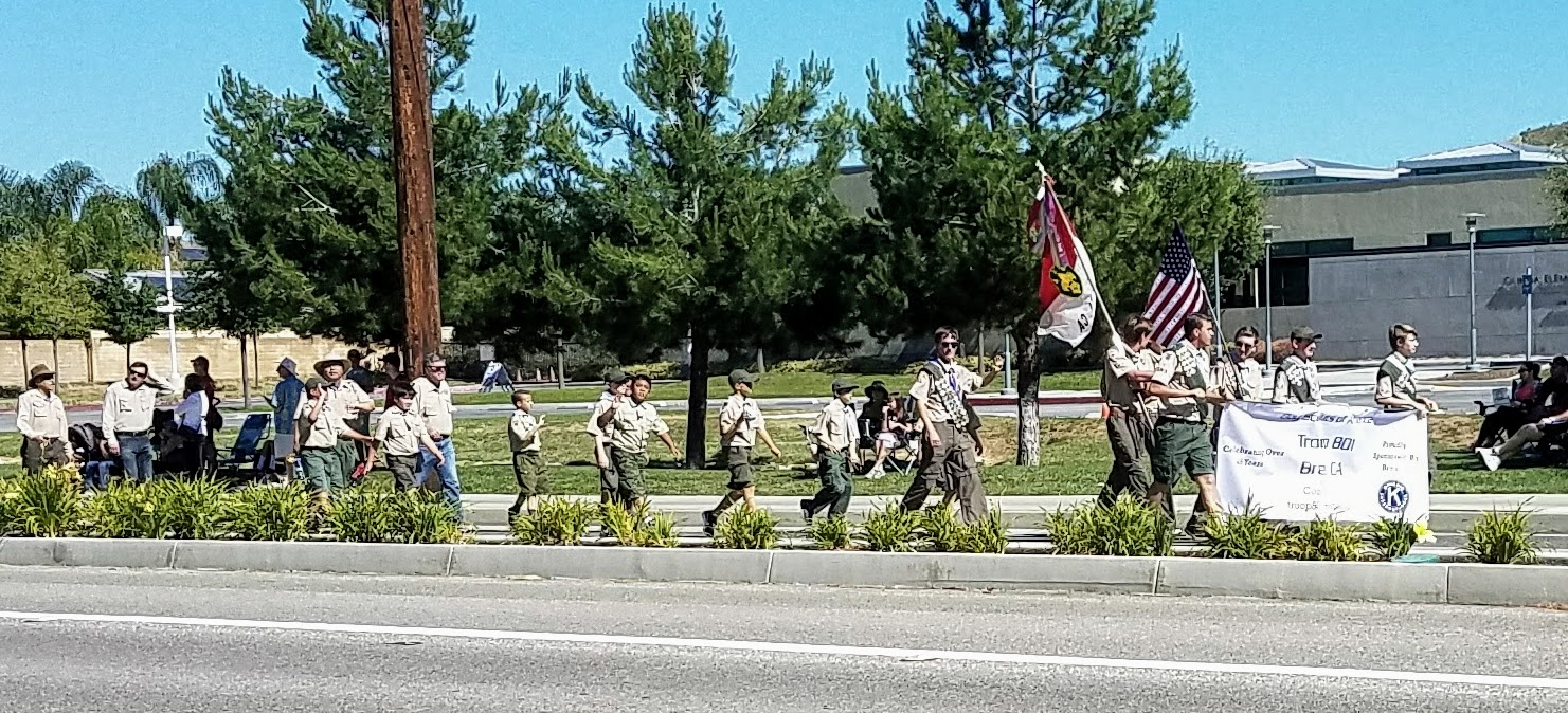 Brea Boy Scout Troop 801 (Photo Courtesy of Dena Sommer)