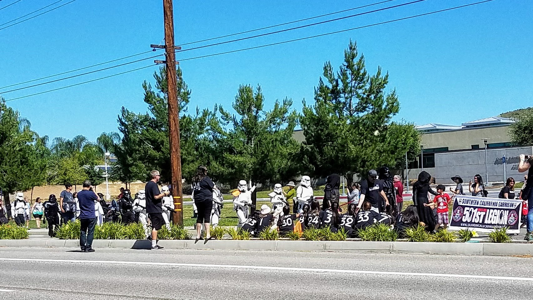 Wannabe Star Wars Storm Troopers (Photo Courtesy of Dena Sommer)