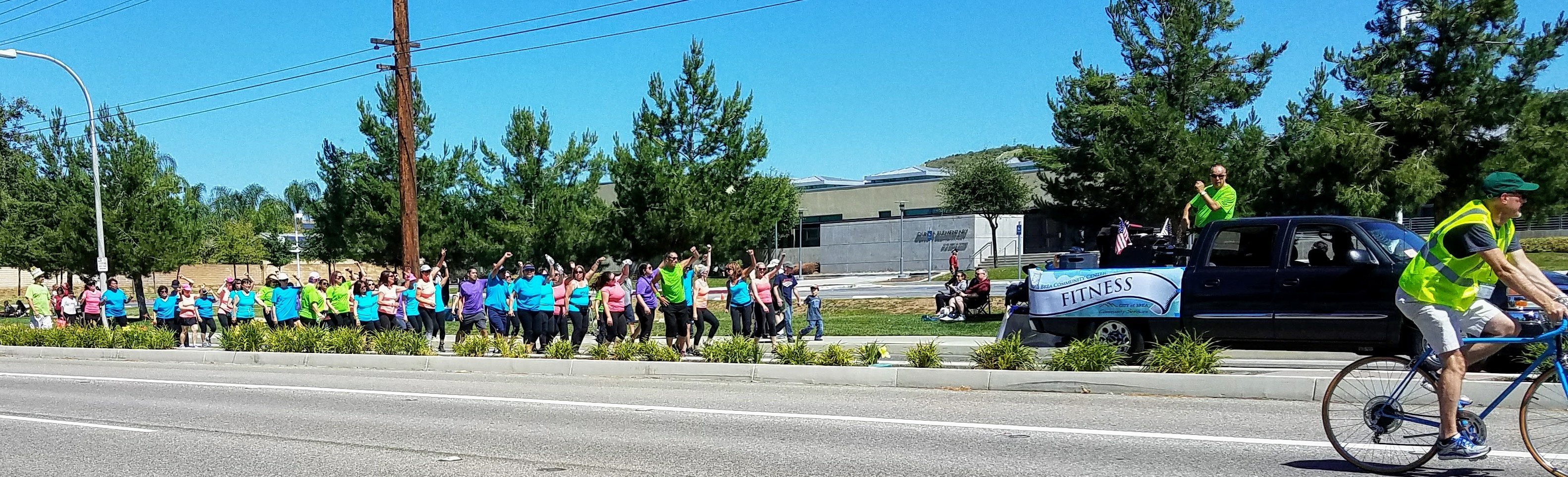 Brea Community Center fitness class (Photo Courtesy of Dena Sommer)