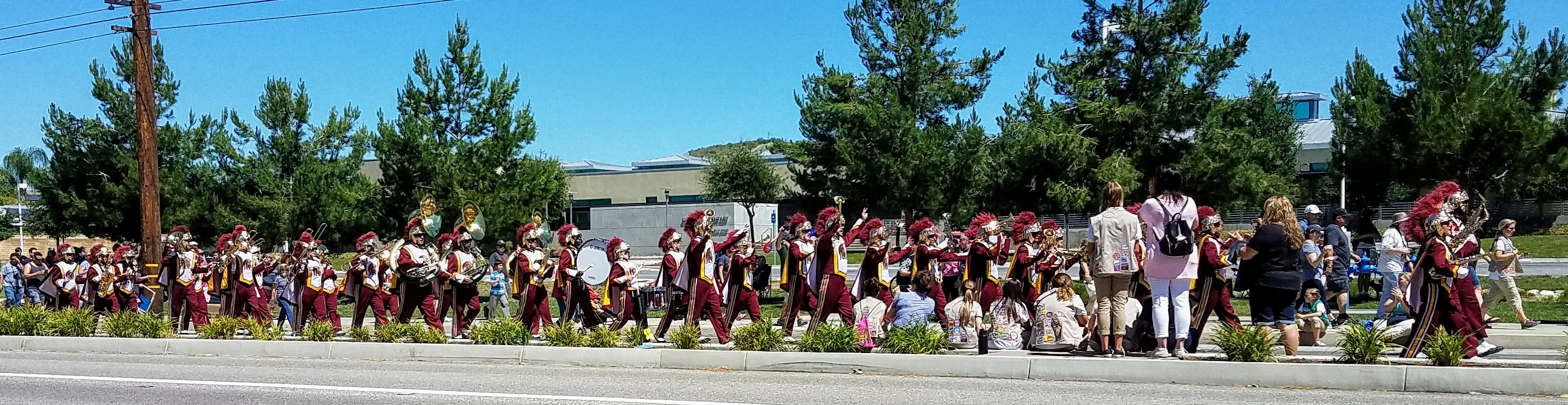 USC Marching Band . . . Fight on! (Photo Courtesy of Dena Sommer)