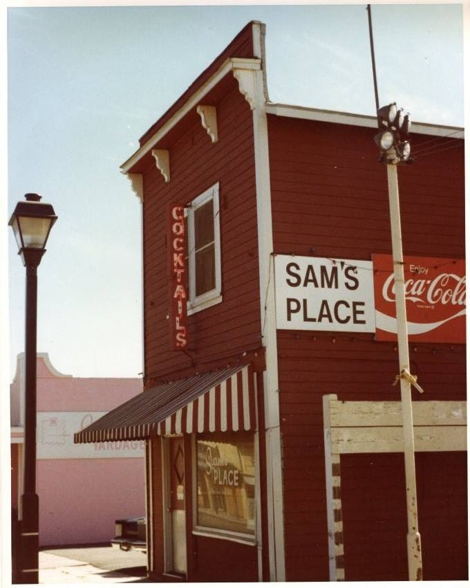 Sam's Place . . . dominus vobiscum! (Photo Courtesy of the Brea Museum & Historical Society)
